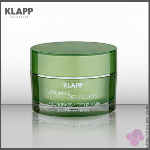 KLAPP Aroma Selection LEMONGRASS DETOX MASK
