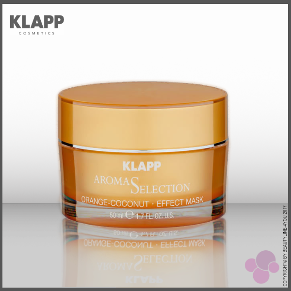 KLAPP Aroma Selection ORANGE COCONUT EFFECT MASK