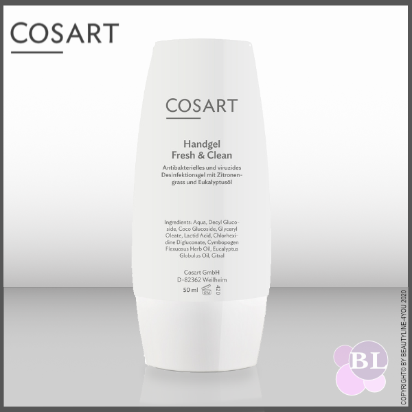 COSART Handgel Fresh & Clean antibakteriell