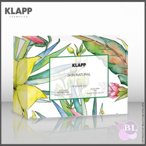 KLAPP SKIN NATURAL Aloe Vera FACE CARE SET Sondergrößen