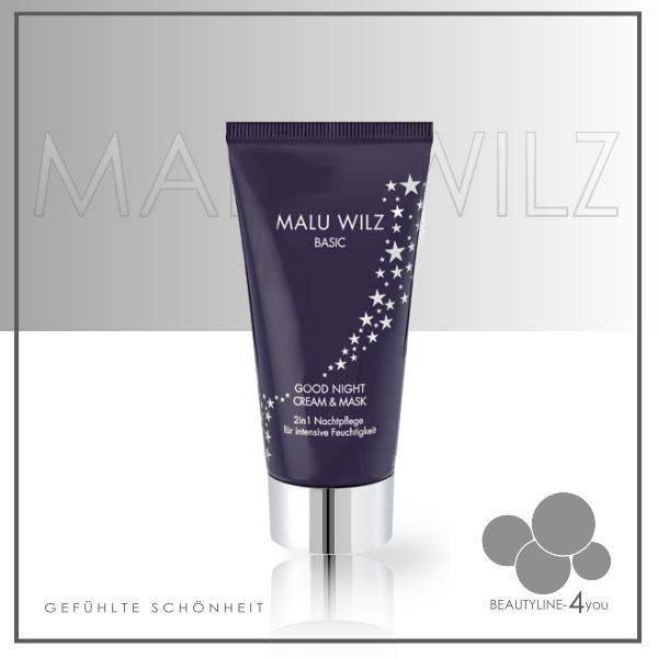MALU WILZ 2IN 1 GOOD NIGHT CREAM & MASK