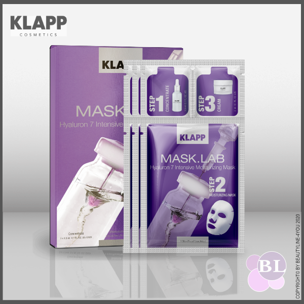 KLAPP MASK.LAB Hyaluron 7 Intensive Moisturizing Mask