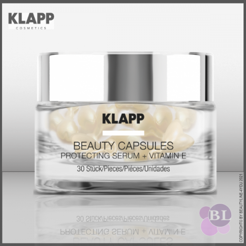 KLAPP BEAUTY CAPSULES PROTECTING SERUM + VITAMIN E