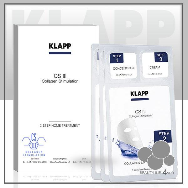 Klapp CS III Collagen Stimulation 3 Step Home Treatment