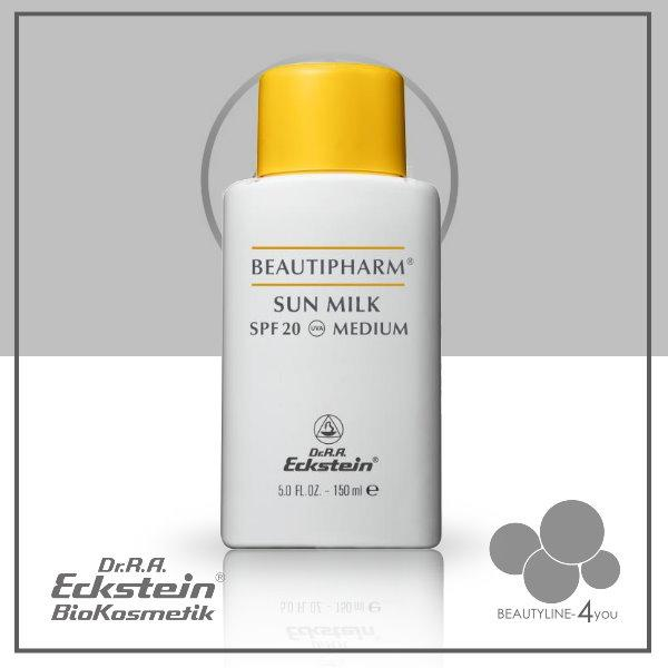 Beautipharm Sun Milk SPF 20 Medium